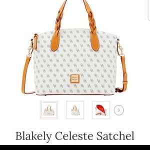 D&B Blakely celeste satchel